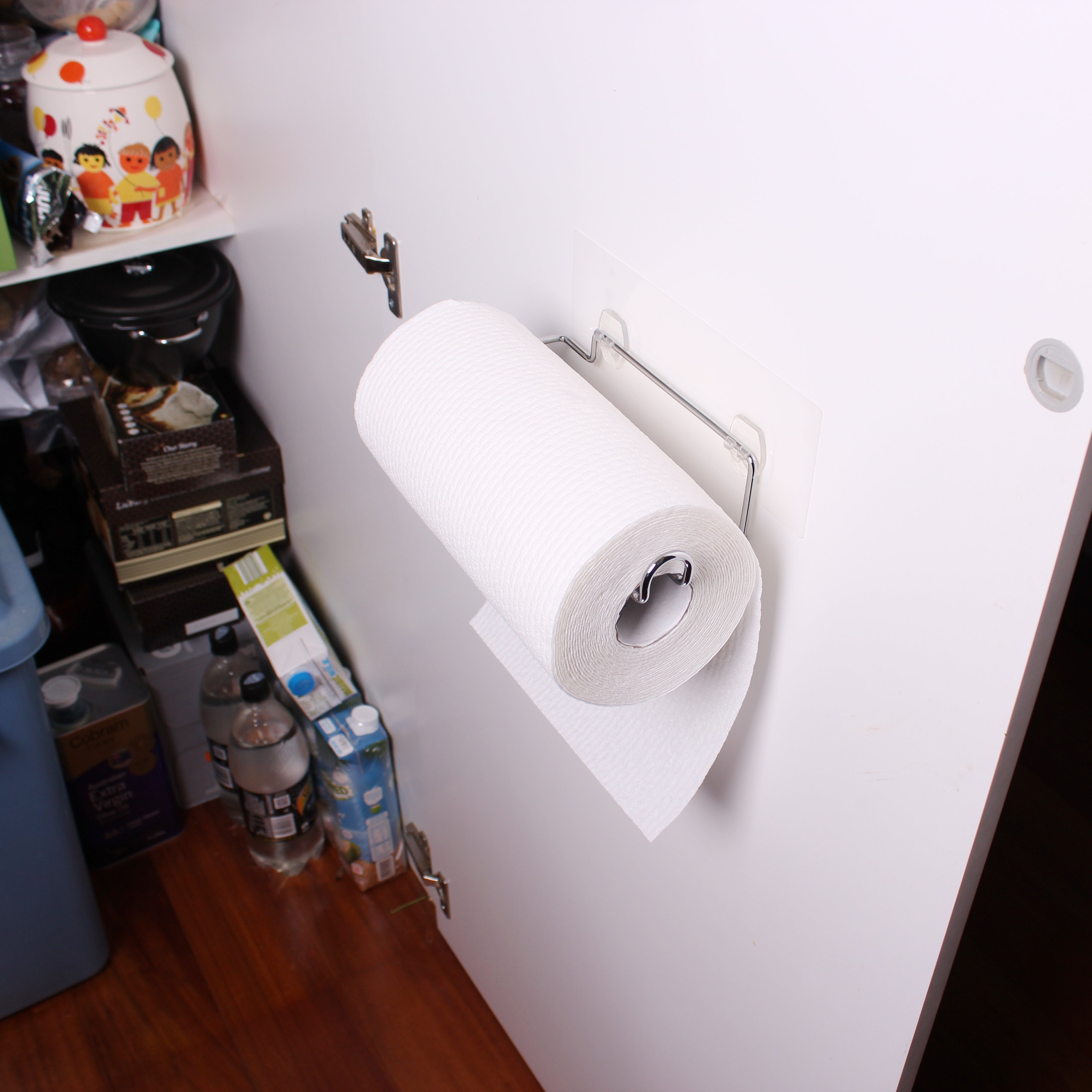 I Hook Kitchen Paper Towel Holder White Magic