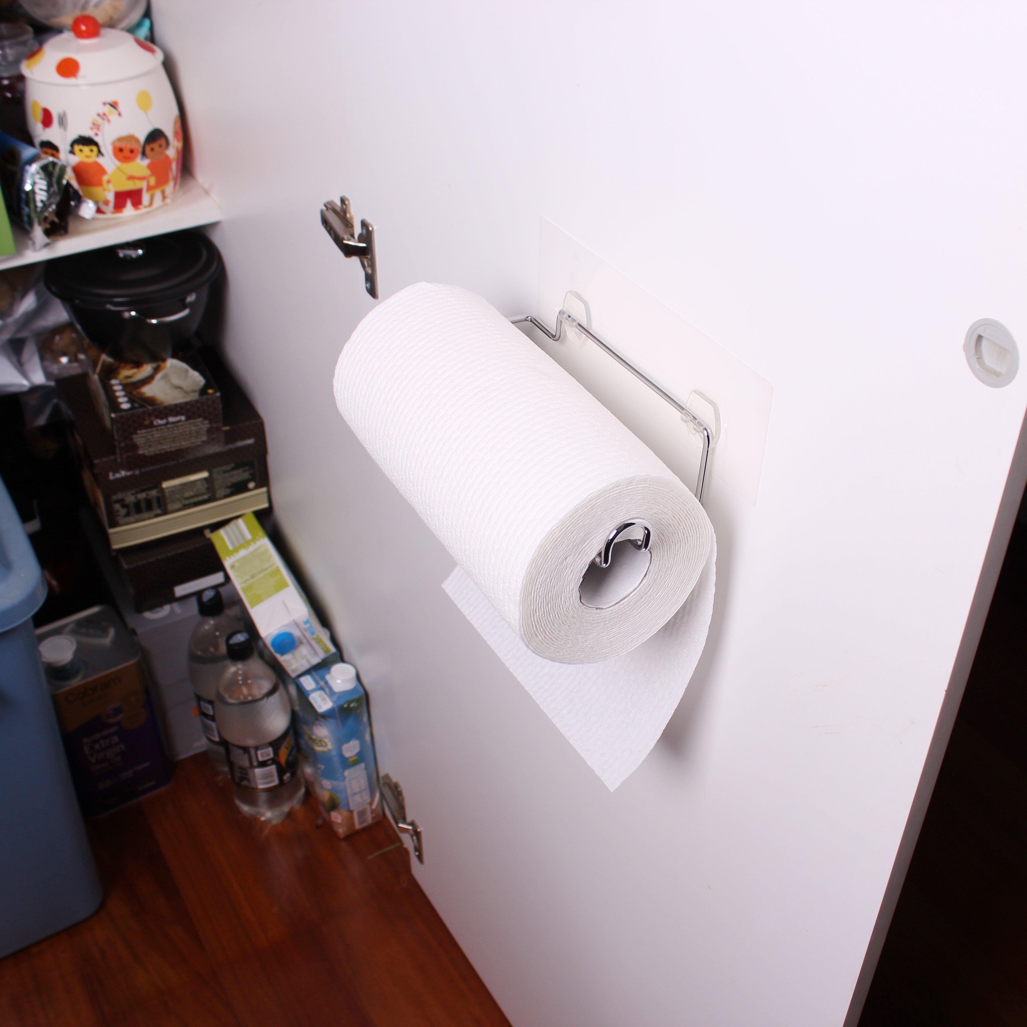 I Hook Kitchen Paper Towel Holder White Magic