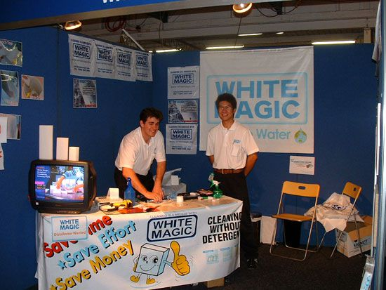 2003, White Magic at Ausclean Brisbane