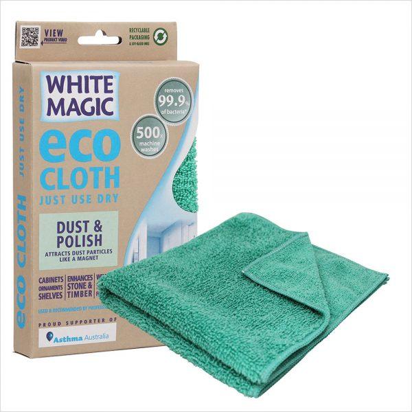 White Magic Eco Cloth Dust and Polish