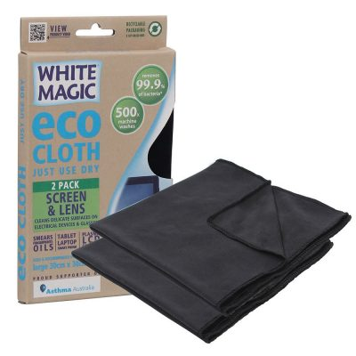 eco cloth screen and lens