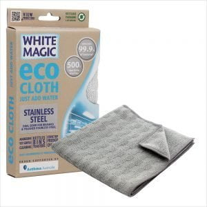 White Magic Eco Cloth Stainless Steel