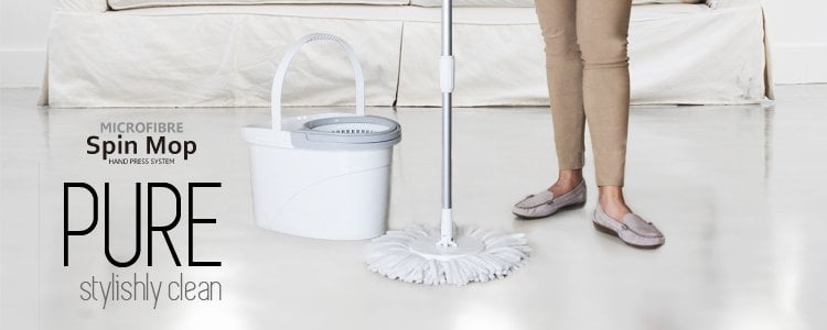 White Magic Pure Spin Mop