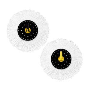 White Magic Professional Microfibre Mop Head