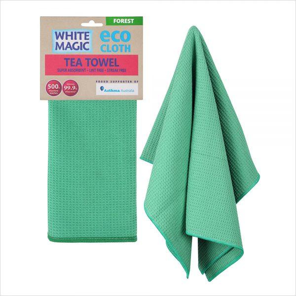 White Magic Tea Towel Forest