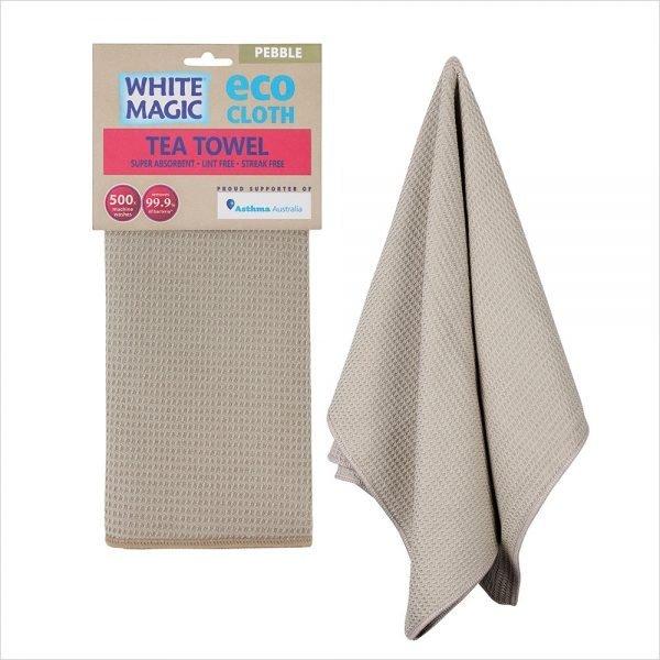 White Magic Tea Towel