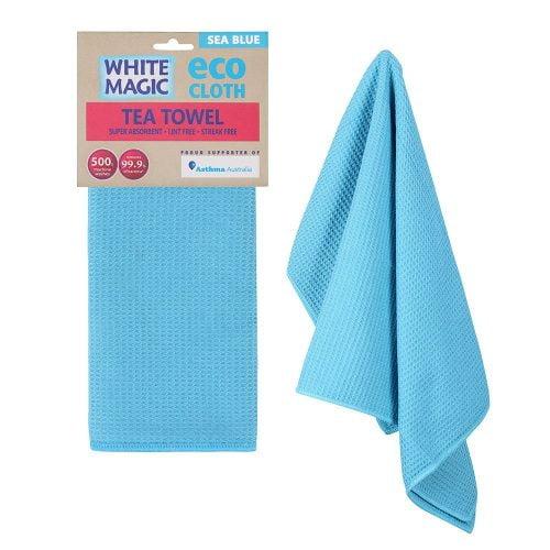 Tea Towel Sea Blue