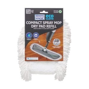 White Magic Compact Spray Mop Dry Pad Refill