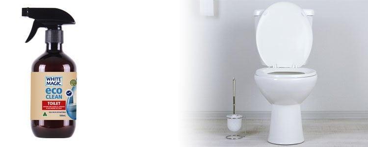 Eco Clean Toilet | White Magic