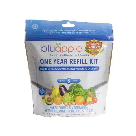 Bluapple with Activated Carbon Refill Kit