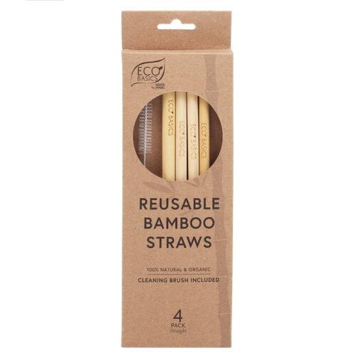 White Magic Eco Basics Bamboo Straws