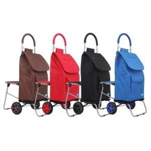Handy Trolley With Seat