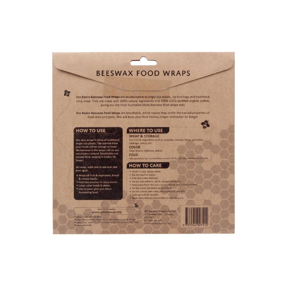 Grey Chevron 100/% Natural Beeswax Food wrap