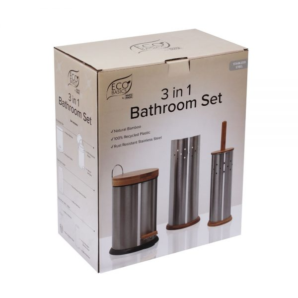 Bathroom Set Package Silver