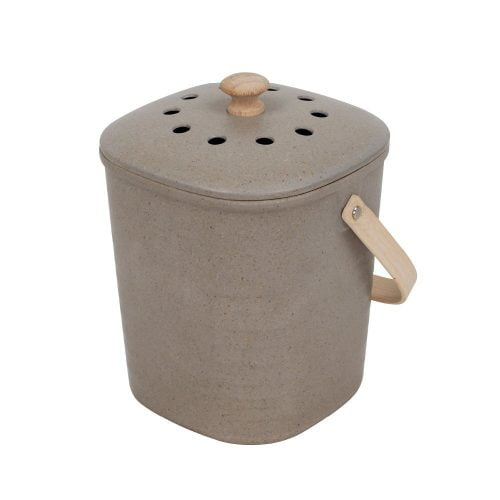 Compost Kitchen Waste Bin Pebble